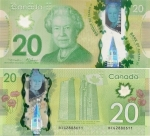 monedas de America - Canadá -  Dollar