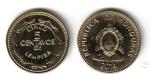 monedas de : America : Honduras : 5 Centavos de Lempira