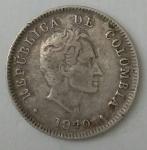 monedas de : America : Colombia : Luis Alberto