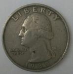 monedas de America - Estados Unidos -  Luismontes