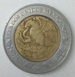 monedas de America - México -  2005 - 2 pesos