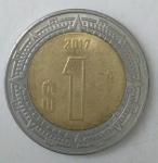monedas de America - México -  2017 reverso
