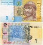 monedas de Europa - Ucrania -  Hryvnia