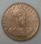 monedas de America - Colombia -  1987 - 2 pesos