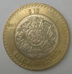 monedas de America - México -  2017 - 10 pesos