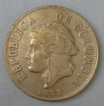 monedas de : America : Colombia : 1952 error