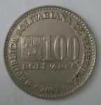 monedas de : America : Venezuela : 2001 reverso