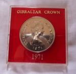 monedas de Europa - Gibraltar -  25 New Pence - Elizabeth II D•G•REGINA  Gibraltar 1971