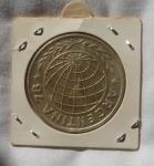 monedas de : America : Argentina : 3000 Pesos Argentina  1977  World Football Championship
