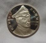 monedas de Europa - Alemania -  ERWIN J.ROMMEL ALEMANIA WWII 1939-1945 GERMANY MEDAL AFRIKAKORPS