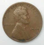 monedas de America - Estados Unidos -  1939-error one cent
