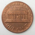 monedas de America - Estados Unidos -  1983- error