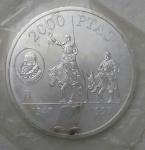 monedas de Europa - España -  1997 plata- 2000 pesetas