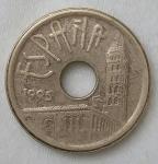 monedas de Europa - España -  1995 - 25 pesrtas