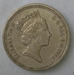 monedas de Europa - Reino Unido -  1993 one pound