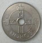 monedas de Europa - Noruega -  2002 - 1 krone