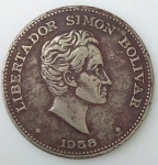 monedas de America - Colombia -  1958 venta