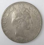 monedas de America - Colombia -  1967 venta
