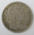 monedas de : America : Colombia : 1907 p/m venta