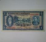 monedas de America - Colombia -  1953 - 1 pesos