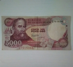 monedas de America - Colombia -  1988 - 5000 pesos