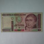 monedas de America - Perú -  1990 - 1.000.000 intis