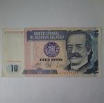 monedas de America - Perú -  1986 - 10 Intis