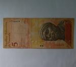 monedas de America - Venezuela -  2009 - 5 bolivares