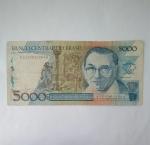 monedas de : America : Brasil : 5.000 cruzeiros
