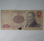 monedas de America - Chile -  1981 - cien pesos