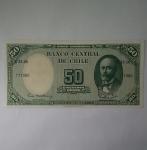 monedas de America - Chile -  50 pesos