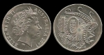 monedas de Oceania - Australia -  Australia: 10 Cents 2007 km402
