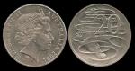 monedas de Oceania - Australia -  Australia: 20 Cents 2001 km403