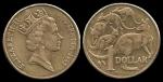 monedas de Oceania - Australia -  Australia: 1 Dollar 1985 km84