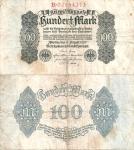 monedas de Europa - Alemania -  Alemania 100 Marcos  Ago 1, 1922 P-75