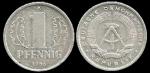monedas de Europa - Alemania -  Alemania 1 Pfennig (small design) 1986 km8.2