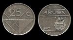 monedas de : Europa : Holanda : ARUBA 25 Cents 1997 km3
