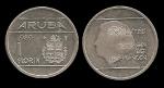 monedas de : Europa : Holanda : ARUBA 1 GUIDEN 1989 km5