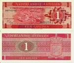 monedas de America - Antillas Neerlandesas -  Netherlands Antilles 1 Gulden Sep 8,1970 P-20a
