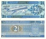 monedas de America - Antillas Neerlandesas -  Netherlands Antilles 2½ Gulden Sep 8,1970 P-21a