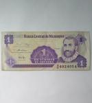 monedas de : America : Nicaragua : Un centavo de cordoba