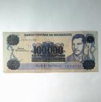 monedas de America - Nicaragua -  100.000 cordobas