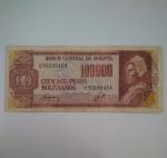 monedas de America - Bolivia -  1984 - 100000 Bolivianos