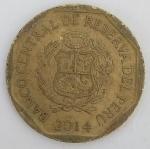 monedas de America - Perú -  2014 - centimos