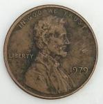 monedas de America - Estados Unidos -  1979 - one cent