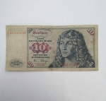 monedas de Europa - Alemania -  1980 - 10 mark
