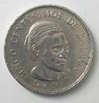 monedas de : America : Panamá : 2001-5 centésimos de balboa