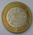 monedas de America - México -  2018 - 10 pesos