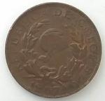 monedas de America - Colombia -  1967 - 1 centavo