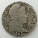 monedas de America - Colombia -  1946 - 5 centavos